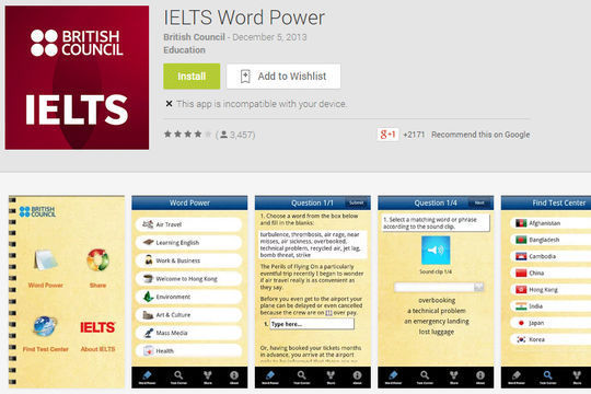 ielts power